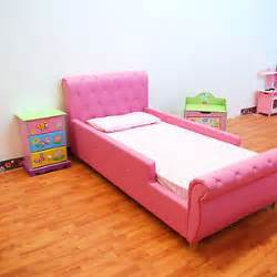Toddler Bed On The Go Boys Toddler Pu Leather Single Pink