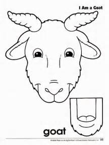 Paper Bag Puppet Template by Best Photos Of Farm Animal Paper Templates Goat Paper