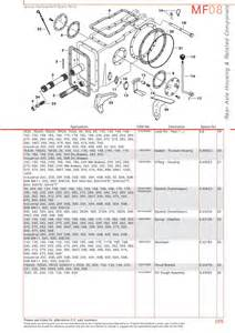 massey ferguson rear axle page 299 sparex parts lists diagrams malpasonline co uk