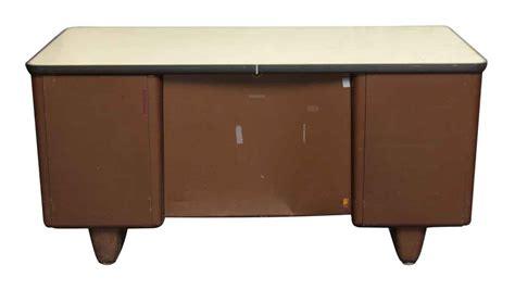 metal all steel office desk olde things