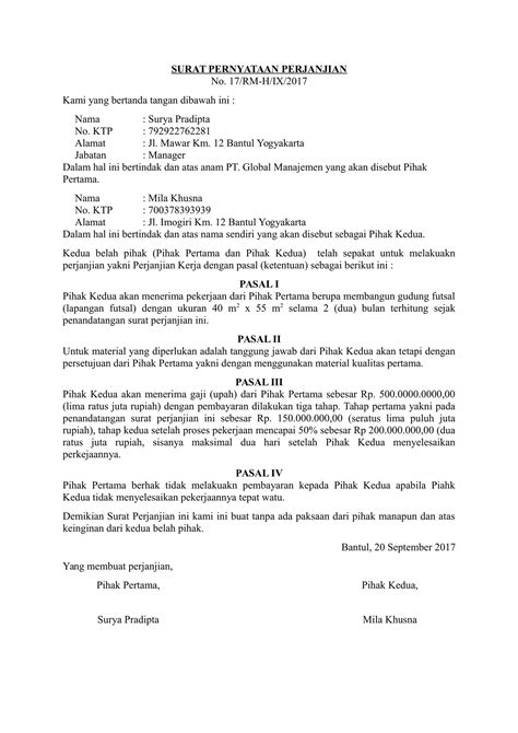 contoh surat kuasa hukum wisata dan info sumbar