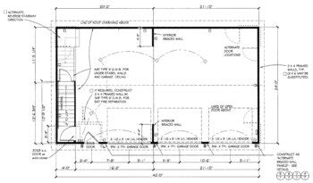 free 3 car garage plans free home plans garage plan blue print