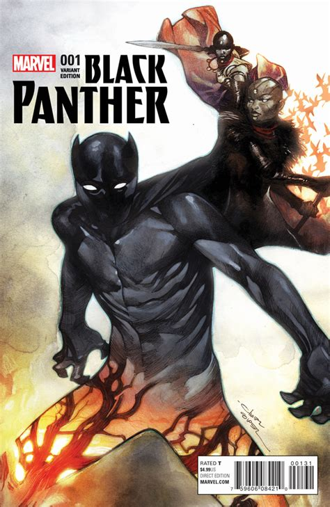 marvel unleashes black panther  covers bounding