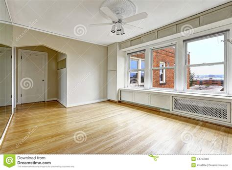 empty apartment interior in residential building in