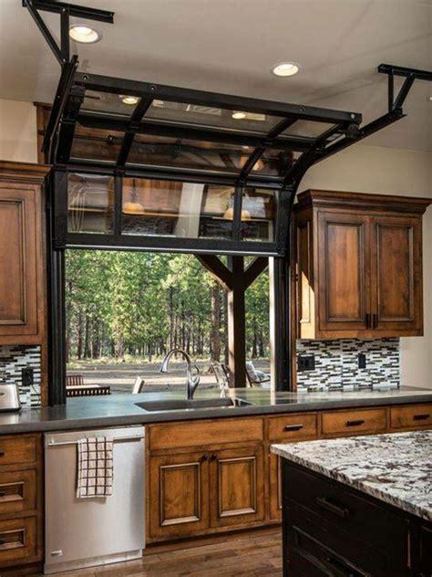 glass door windows on kitchens image result for garage style roll up kitchen window