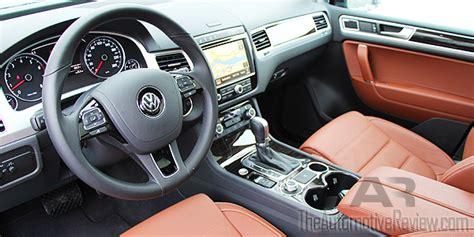volkswagen touareg 2017 interior 2017 volkswagen touareg review the automotive review