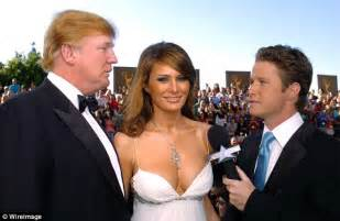 Seen on the red carpet with billy bush ahead of the 56th emmys in 2004