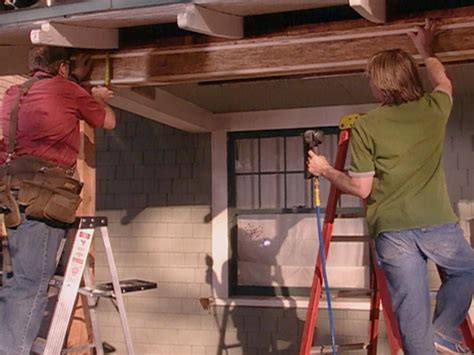 how to repair a sagging support beam how tos diy