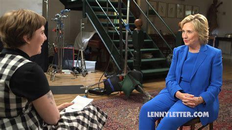 lena dunham new york interview hillary clinton lena dunham interview politico