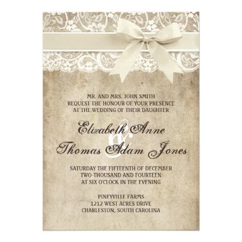 country elegance wedding invitations most popular rustic country wedding invitations