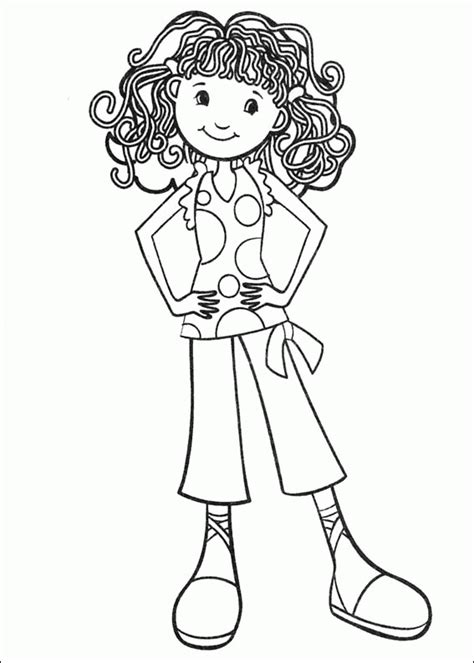 coloring page with girl groovy girls coloring pages coloringpagesabc com