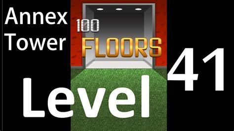 100 floors level 60 annex 100 floors level 41 annex tower solution walkthrough