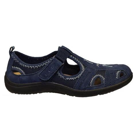 navy sandals 1 earth spirit earth spirit nubuck navy g1 24005