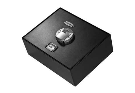 Biometric Drawer Safe by Top Opening Biometric Drawer Safe Sharper Image