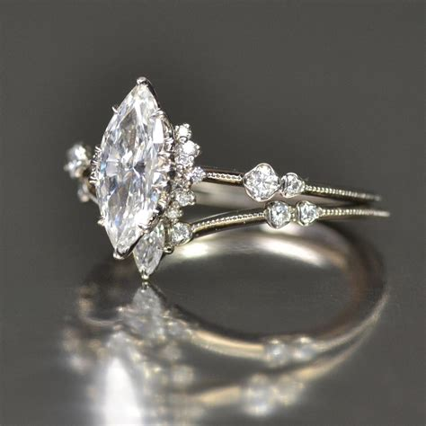 Marquise Engagement Ring by Marquis Solitaire Supreme Engagement Ring