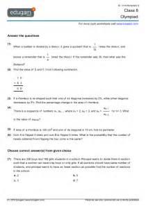 grade 8 olympiad printable worksheets online practice