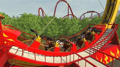 9 Rankers Of The Roller Coaster World by Rollercoaster Tycoon Is Back For 2016 Vomiting