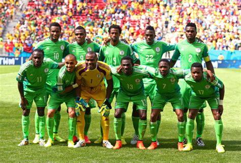 nigeria football team nigeria s national soccer team eagles showered