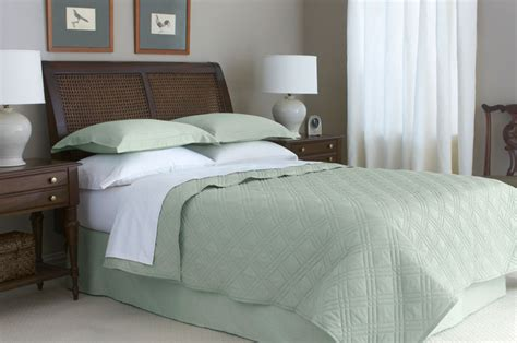 sage coverlet 78 quot x 80 quot x 15 quot martex suites swift fit bed skirts king