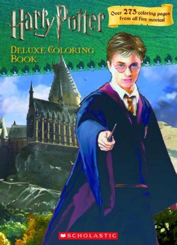 harry potter deluxe coloring book harry potter deluxe coloring book harry potter books