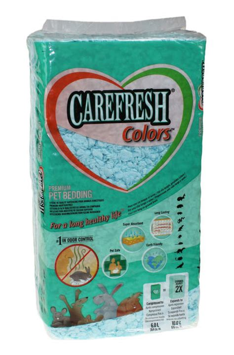carefresh bedding carefresh animal bedding 10l blue rabbit bedding