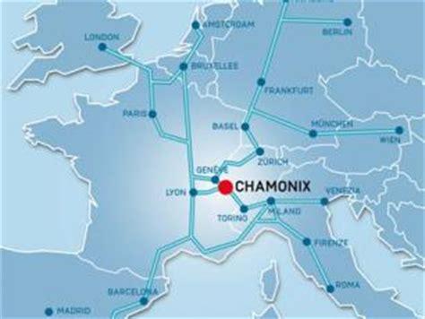 Voyage en voiture de l'Italie à Chamonix Mont Blanc