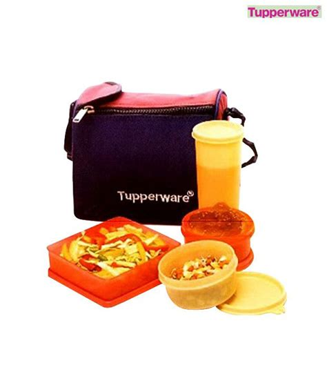 Tupperware Lunch Set tupperware best lunch set available at snapdeal for rs 741