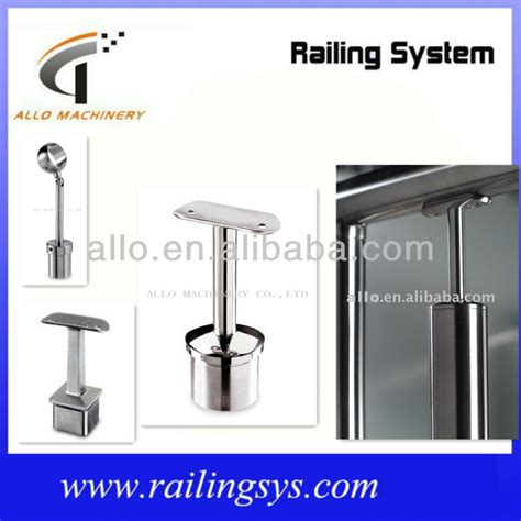 banister parts stainless steel railing system parts modern metal deck