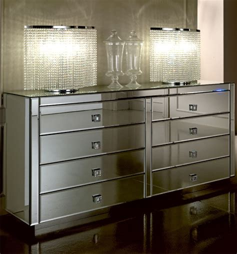 Large Mirrored Chest Of Drawers by Luxury Large Venetian Chest Of Drawers