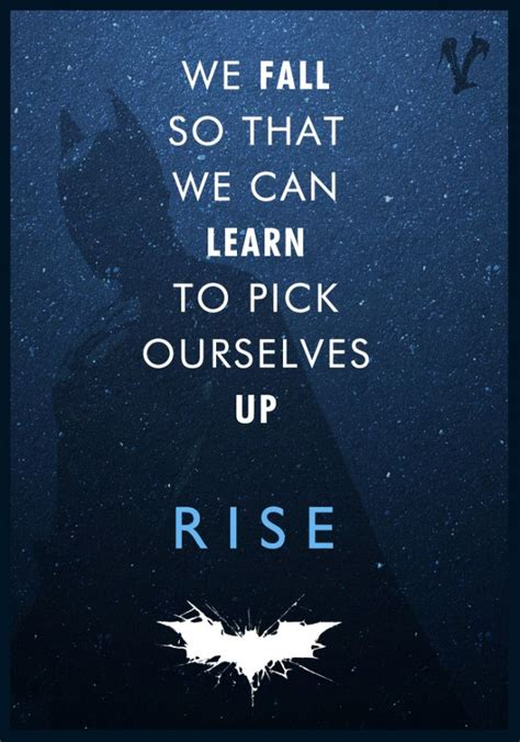batman wallpaper why do we fall quot why do we fall bruce so that we can learn to pick