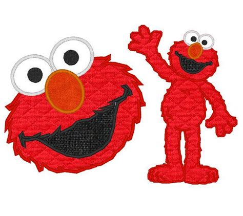 elmo applique elmo and machine applique by