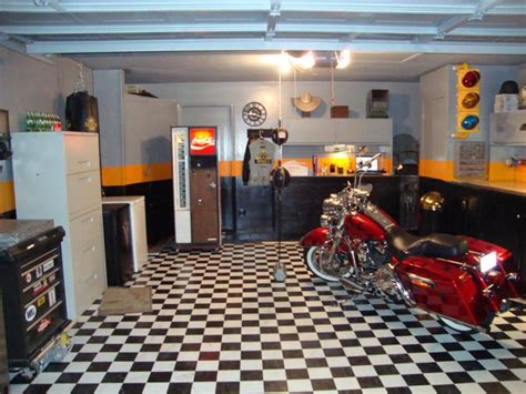 Garage Forums by Took Some Time To Quot Redo Quot Garage Harley Davidson Forums