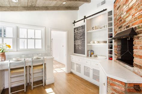 25 Trendy Kitchens That Unleash The Allure Of Sliding Barn Barn Door For Kitchen