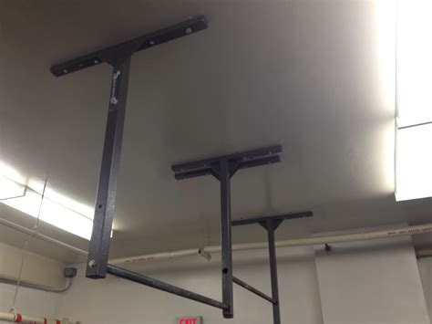 Garage Pull Up Bar Ceiling everyday pull ups stud bar ceiling or wall mounted