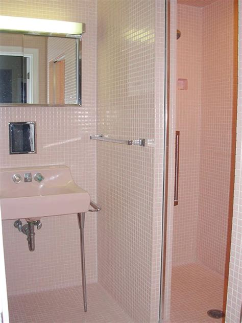 pink tiles bathroom pink tile bathroom decorating ideas my web value