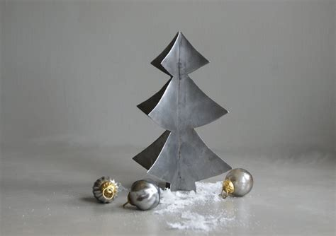 welded steel tree bean pinterest