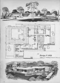 mid century modern floor plan midcentury modern house plans 171 floor plans