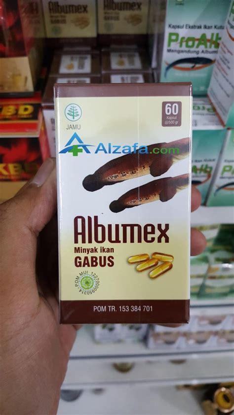 Albumex Kapsul Minyak Ikan Gabus albumex minyak ikan gabus alzafa store