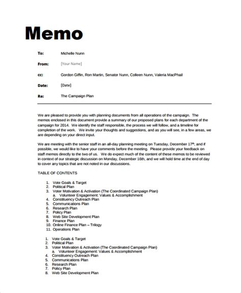 accounting memo template 6 professional memo