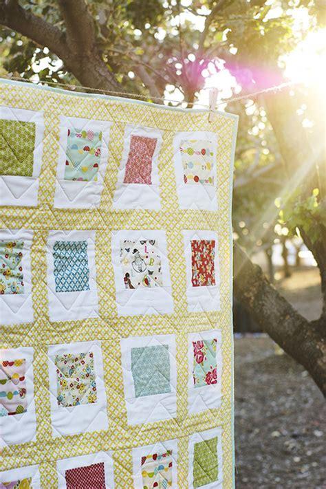 Beginner Quilt Tutorial by 45 Beginner Quilt Patterns And Tutorials Polaroid Quilt