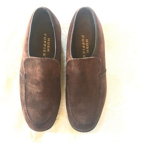 classic hush puppies shoes 96 hush puppies shoes classic brown suede hush puppies loafers from a s