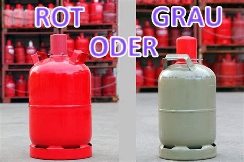 Gasflasche Pfand Rot by Gasgrill Graue Oder Rote Gasflasche Bedeutung