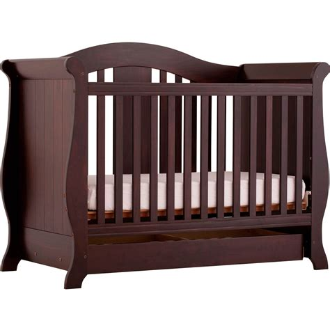 fixed side convertible crib storkcraft vittoria fixed side convertible crib cribs