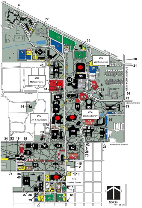 Recreation Center Floor Plan by Atms Ball State University