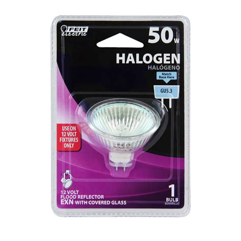 Lu Sorot Halogen 50 Watt 50 watt halogen mr16 feit electric