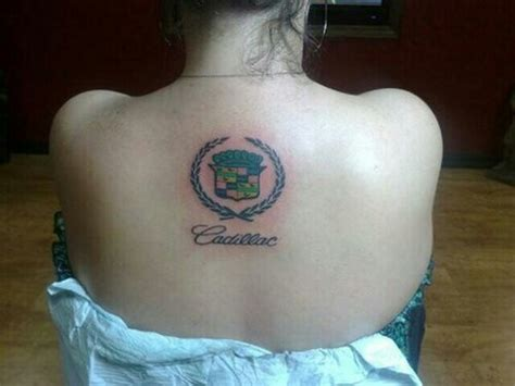 where should i get my tattoo i should get this in memory of my cadillac i miss