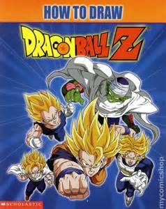 draw dragon ball sc 2001 scholastic comic books