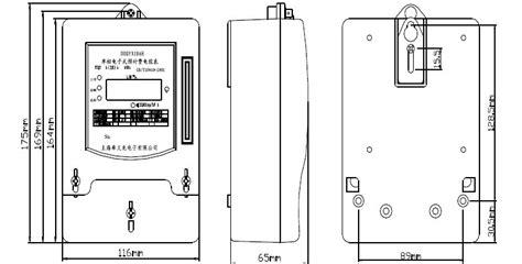 single phase energy meter wiring diagram single phase