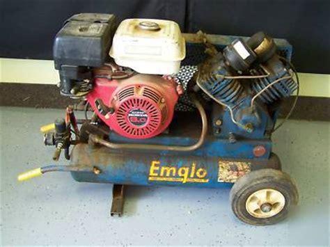 emglo k5hga 8p 10cfm portable air compressor honda